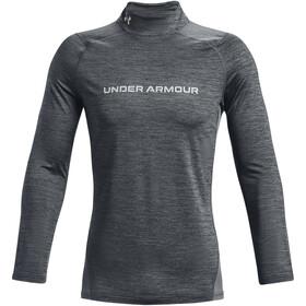 Under Armour CG Armour Fitted Twist Mock Maglietta a maniche lunghe Uomo, grigio